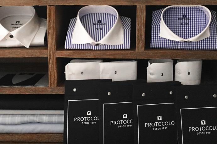 Camisas a medida. Paso 2: Personalización completa de tu camisa.
