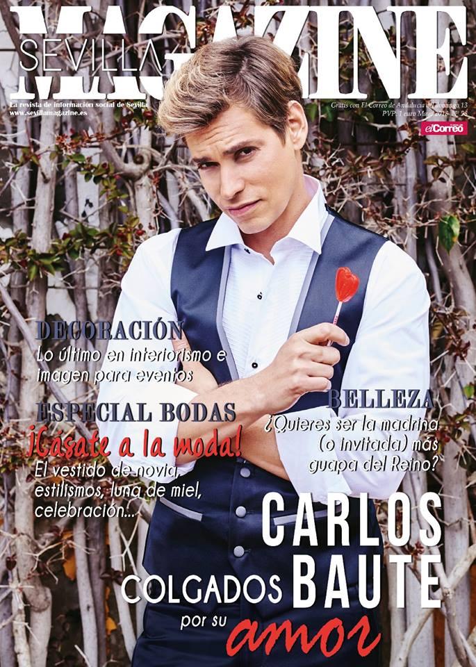 Carlos Baute con smoking de Protocolo Novios