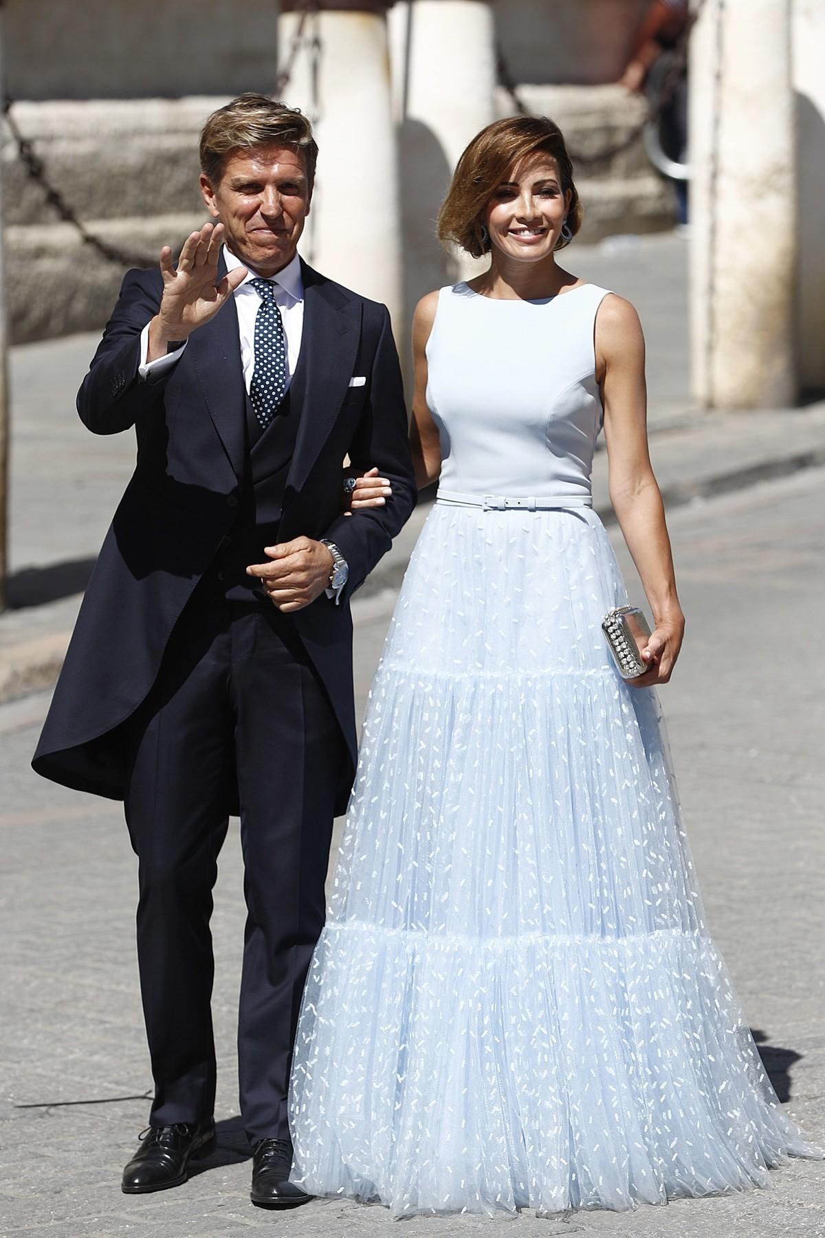 protocolo novios boda Pilar Rubio